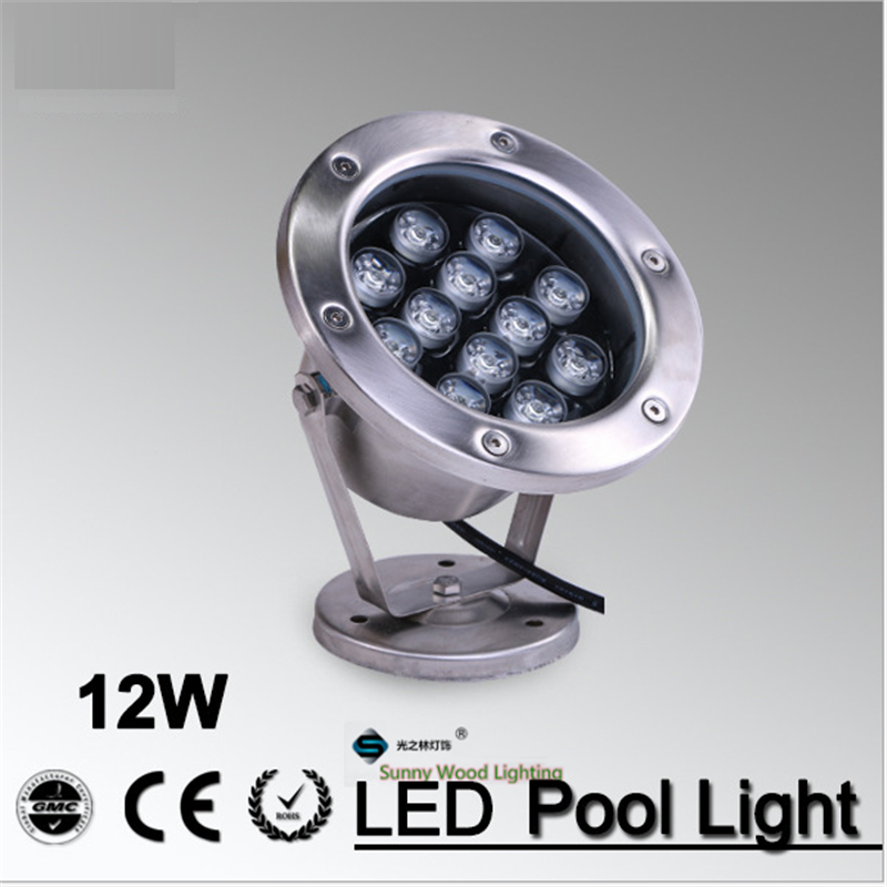 IP68 LED fountain light ,12Wpool light ,IP68 underwater light, piscina light for swimming pool 12W 12V AC LPL-A-12W high power led pool light free shipping ip68 fountain light 6w 24v ac led underwater light lpl b 6w 24v