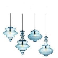 High End Nordic дизайнер ручной специальные формы кристалл Стекло E27 Pendnat свет для Гостиная Обеденная кафе-бар деко 1957