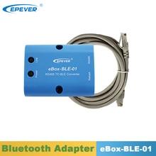 Epever bluetoothアダプタeBox BLE 01 epeverためトレーサーをトレーサーbn triron xtraシリーズmpptソーラーコントローラ市シリーズインバータ