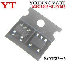 100 pçs/lote MIC5205-5.0YM5 MIC5205-5.0 MIC5205 KB50 SOT23-5 5205-5.0 5V 150MA IC Melhor qualidade