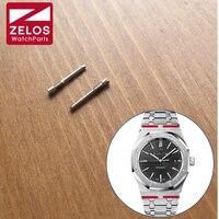 2 sztuk/zestaw krótkie zegarek Śruba RO tube bar rod Dla AP royal-dąb 41mm przypadku obserwacji występy Podłączyć zespół/pasek/pas 26320 15400