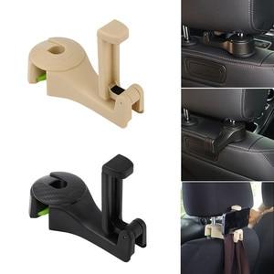 Car Phone Holder Seat Back Hanger For Ford Focus 2 1 Fiesta Mondeo 4 3 Transit Fusion Kuga Ranger Mustang KA S-max(China)