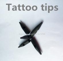 Black Tattoo Disposable Permanent Makeup Tips/Nozzles/Plastic Cap For Permanent Makeup Taiwan Machine Needles