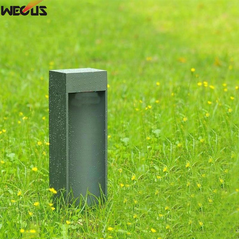 Outdoor Waterproof 10W LED Garden Lawn Lamp Minimalist Modern Landscape Park Lawn Light Garden Lighting Aluminum Lamp AC85-265V