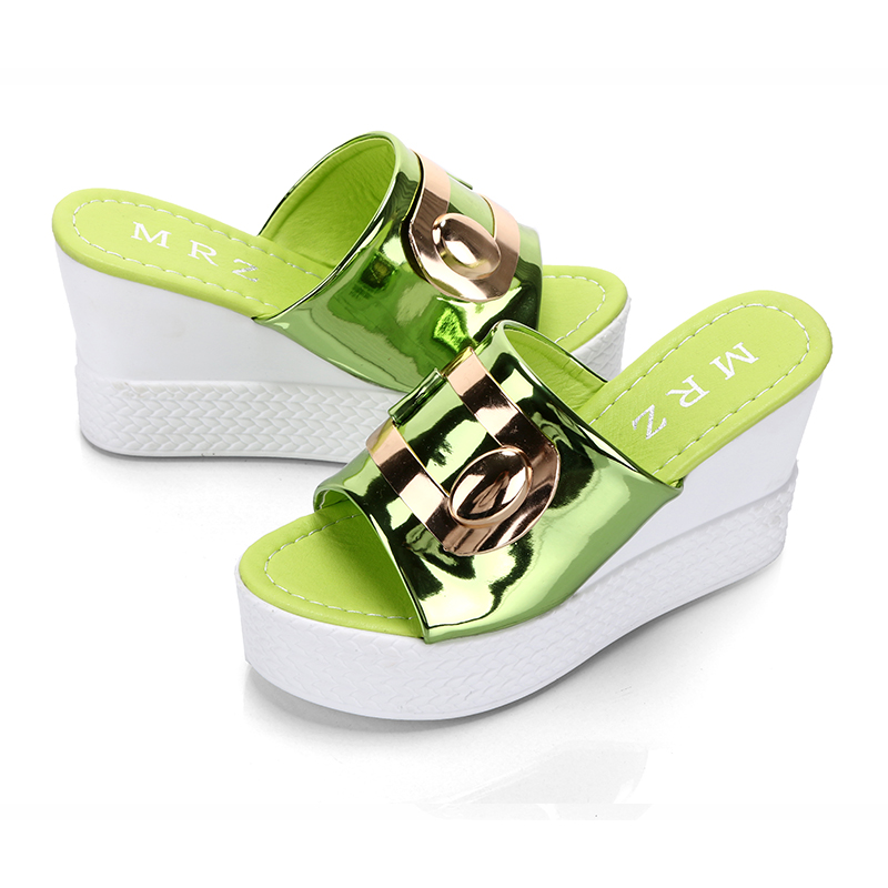 2018 Summer New style Arrived Sexy Platform Wedges Sandals Women Fashion High Heels Female Slippers a634