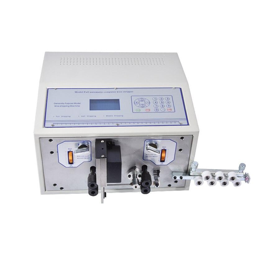 SWT508D-II Автоматическая зачистки проводов машина, 110-220 В компьютер, машина для зачистки проводов 0,1-6 мм зачистки кабеля машина