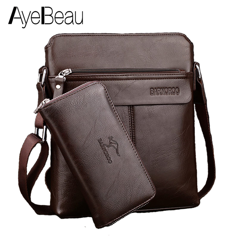 Men Briefcase Handbag Satchel Portfolio Messenger-Bag Document Business-Hand-Work Office