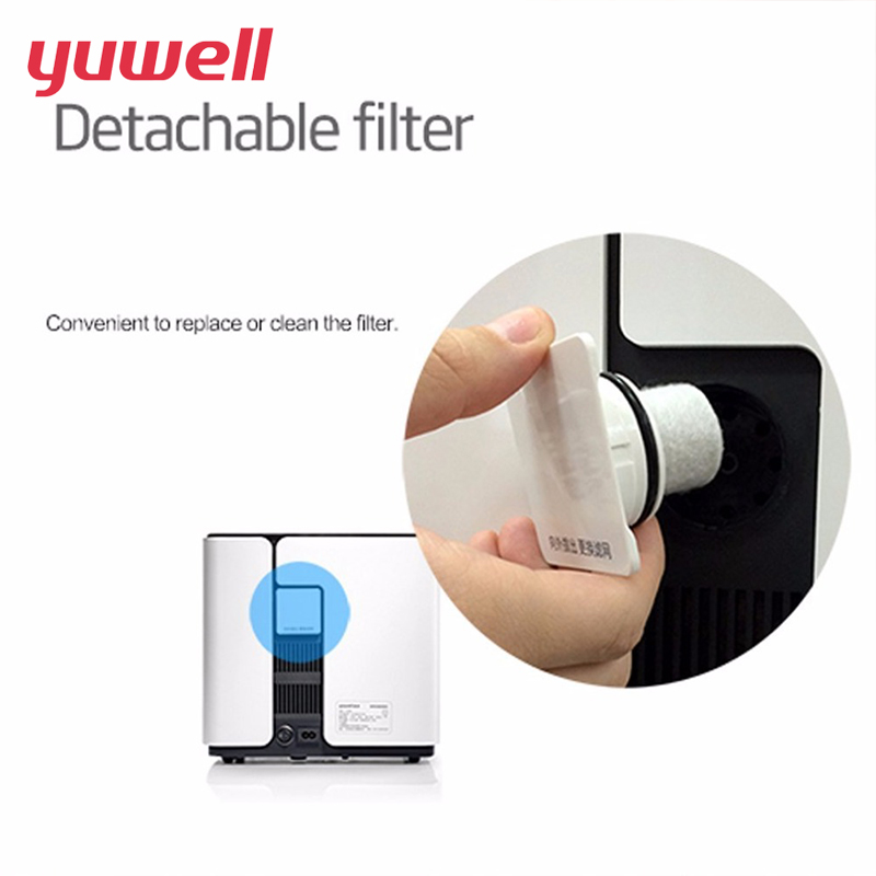 Yuwell Oxygen Concentrator The Filter Cotton Applicable To YU300 YU300S ,5 Pieces/Package Health Care Equipment
