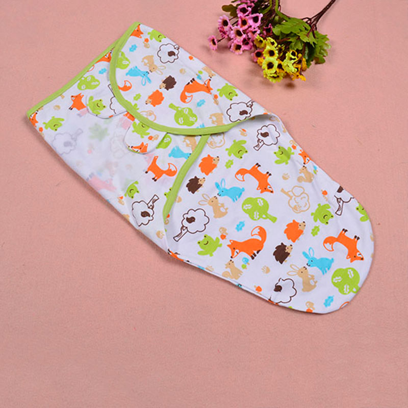diapers Swaddle envelope Sleep bag Sleepsack summer organic cotton infant newborn thin baby wrap