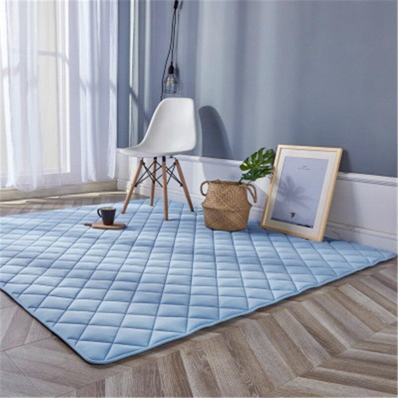 Cool sens tapis tapis salon chambre été chevet tapis Tatami enfants ramper tapis