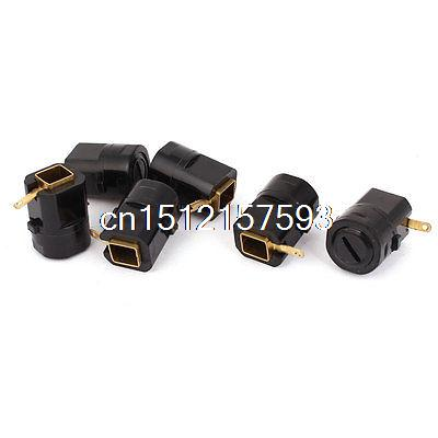 8mm x 7mm x 21mm Carbon Brush Holder 6pcs for Generic Electric Motor