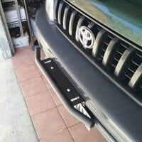 Amortecedor do carro suporte de montagem da placa de licença barra de luz suporte preto para suv veículo caminhão wrangler spotlight suporte fixo