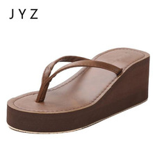 2018 Fashion Womens Flip Flops Summer Sandals Shoes Slippers Out Door Shoe Lady Size 40 aa0948