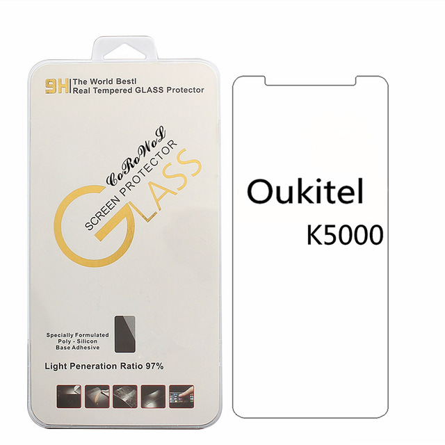 For <font><b>oukitel</b></font> K5000 / <font><b>K8000</b></font> Tempered Glass <font><b>Screen</b></font> Protector 9H 2.5D explosion-proof Protective Glass Film image