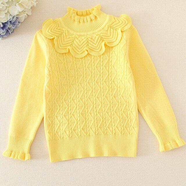 9d1a12568022 Fashion Baby Girls Pink Tops Knit Shirts Thin Sweater Autmn Winter ...