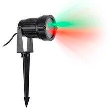 Boże narodzenie Światła Laserowe Gwiazda Projektor Lampy Trawnik Ogródek Dekoracji Wodoodporna IP65 Czerwony Zielony Prysznice Sky Statyczne Na Boże Narodzenie