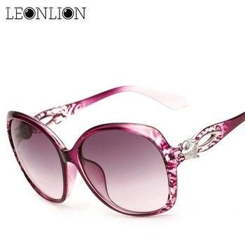 bc4db197d2 LeonLion 2019 Vintage Gafas De Sol mujer marca diseñador lente De gran marco  De Gafas De Sol, Gafas De Sol De Gafas