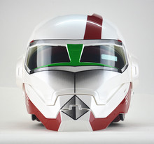Personality motorcycle helmet male iron 0 man the, high-end off-road motorcycle Macross Retro Genuine