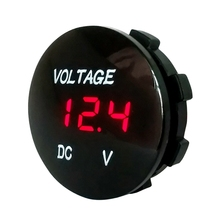 Car Motorcycle DC5V-48V LED Panel Digital Voltage Meter Display Voltmeter Type2