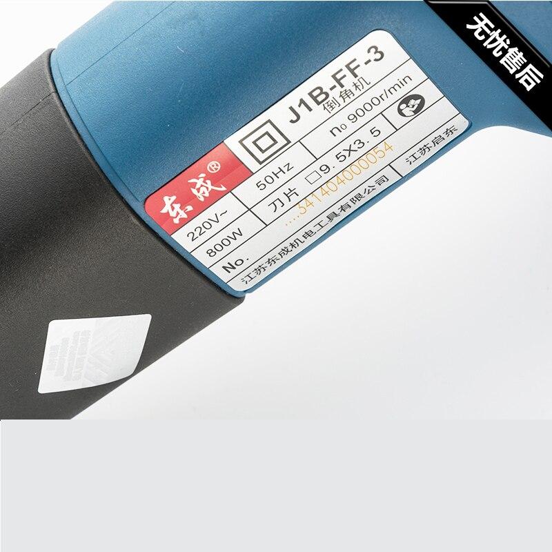 Hordozható marógép hegesztési varrattal Beveller 800w fém - Elektromos kéziszerszámok - Fénykép 4