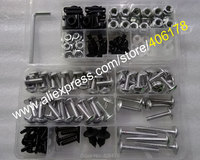 Hot Sales Universal Motorbike Fairing Screws Kit Nut Body Screws Fasteners Motorcycle Accessories Body Fastener Clips
