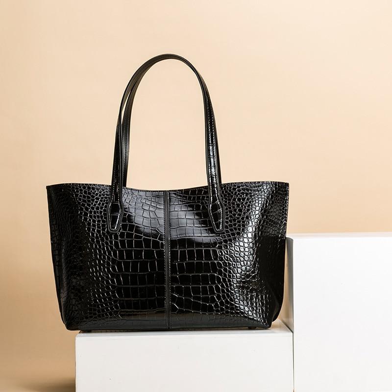 EVANMO Women's Fashion Shoulder Bag Handle Bag Leather Bag Lady Big Capacity Purse Tassel Leather Female Big Tote - 3