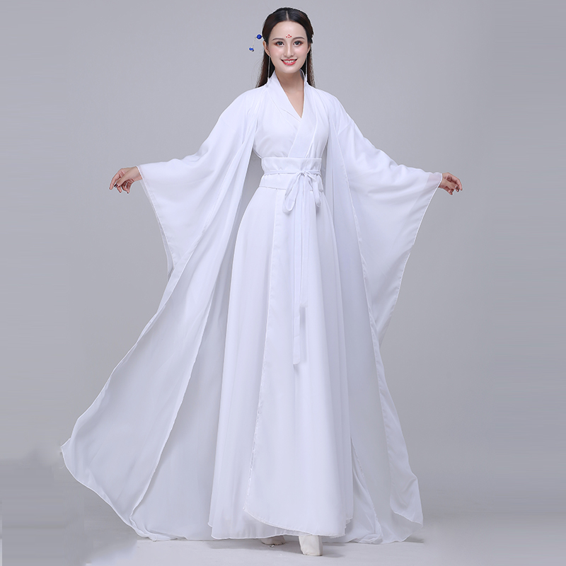 Cosplay Costume Traditional Women Hanfu Clothing Chinese Ancient Clothes Classic Dance Zither Performance Dress Gown 3XL 4XL