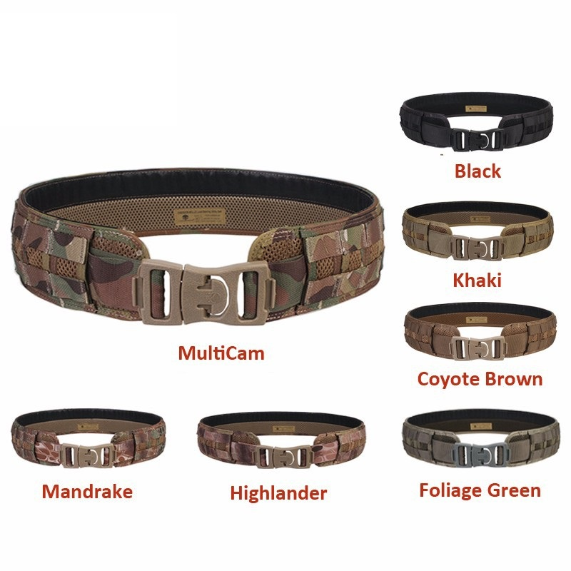 Tactical gear tatico 1000D Oxford MOLLE Belt Tactical Military Belt Hunting Belt Airsoft Belt free shipping
