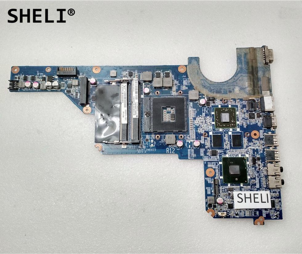 SHELI 636372-001 636371-001 For HP G4 G6 G4-1000 Motherboard DA0R12MB6E0