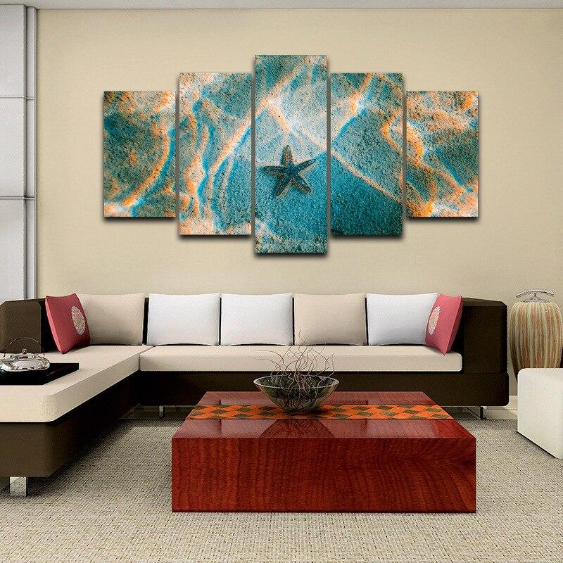 Mar HD impreso Decoración para el hogar enmarcado arte de la pared ...