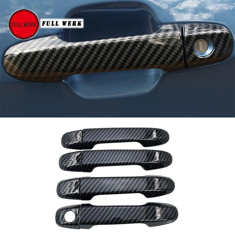 ABS accessoires extérieurs de voiture poignée de porte garniture Wrap pour Subaru Forester 19 rétroviseur couvercle capuchon protecteur voiture style
