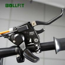 Bollfit sensor de freio hidráulico ebike, sensor de freio comum ebike cabo de freio cortado energia para conversão de e bike kit de