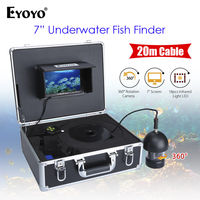 EYOYO 7 TFT Color Screen 360 Degree Underwater Video Fishing Camera Fish Finder Infrared HD 1000TVL
