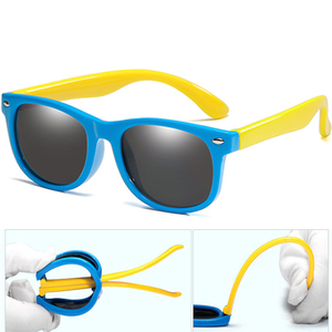 Image 2 - Long Keeper เด็กแว่นตากันแดดแว่นตากันแดดเด็กทารก UV400 แว่นตาเด็ก Shades Gafas Infantil