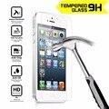 Protector de pantalla de cristal templado de cine para apple iphone 4 4s 5 5s 5C SE 6 6 S 7 Plus Anti Shatter Protector de la Película 0.33 MM 9 H resistente A Los Arañazos