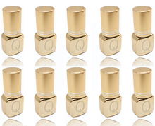 Glesum extensiones de pestaña transparente y negra, 10 botes de pegamento, sin látex, baja irritación, 5s