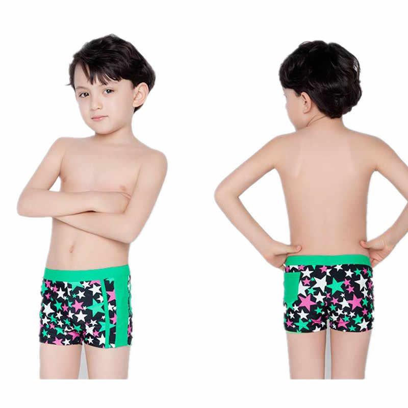 eeb1c400c0bea ... Funfeliz Kids Swimwear 5-15 Yaers Boys swimming trunk Teenage boy  Bathing Suit Blue Red ...