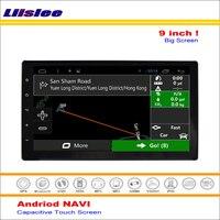 Liislee Araba Android GPS Navigasyon Sistemi Toyota Hilux Için AN120/AN130 2015 ~ 2016 Radyo Ses Video Multimedia Hiçbir DVD Oynatıcı