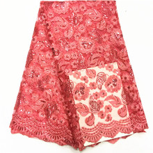 african tulle lace french lace with sequins wholesale lace material for sewing  french net lace