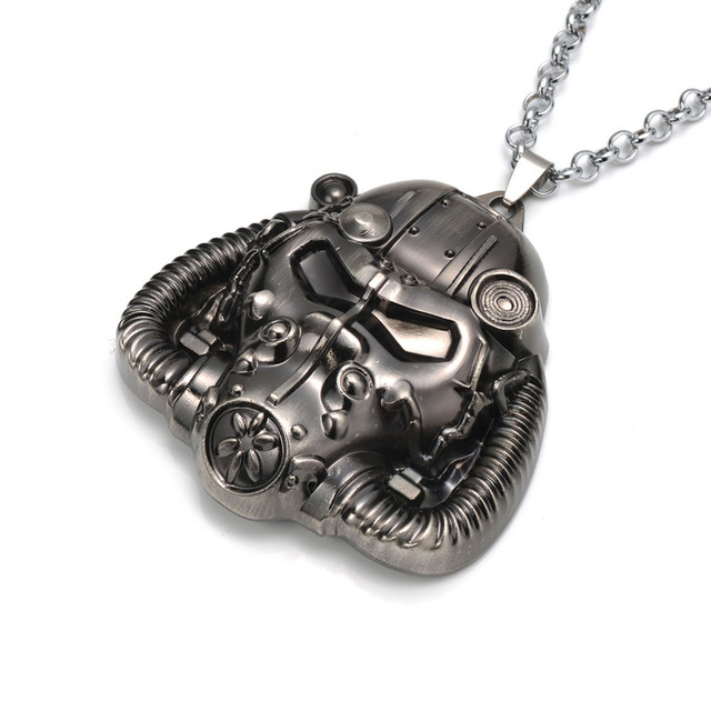 Creative Antique Gas Mask Shaped Metal Steampunk Pendant