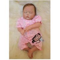 Real Reborn Babies Sleeping Doll Newborn Toys For Children S Birthday Gift 20 Inch Realistic Baby