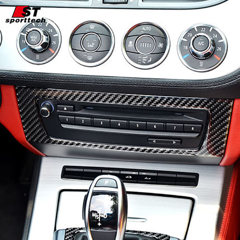 Car Styling Cd System Cover Parts For Bmw Z4 E89 3d Carbon