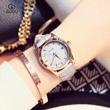 GUOU Women's watch Montre Femme top luxury famous brand Analog dial women quartz watch fashion leisure clock relogio feminino