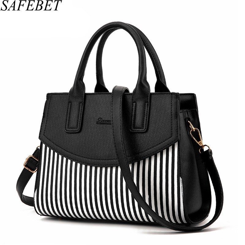 SAFEBET Brand 2017Fashion Female Handbag Shoulder Messenger Bags Female Package European And American Style atmosphere Women bag dtbg pu leather women handbag fashion european and american style totes messenger bag original design briefcase zipper 2017