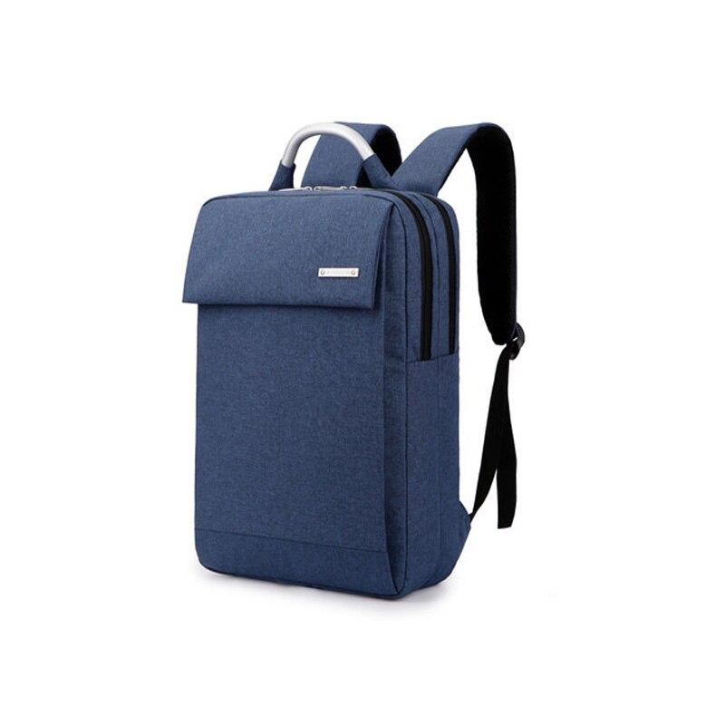 13 14 15.6  inch Computer Shoulder Bag Shockproof Laptop Backpack Canvas Leisure Men Women Laptop Notebook Backpack