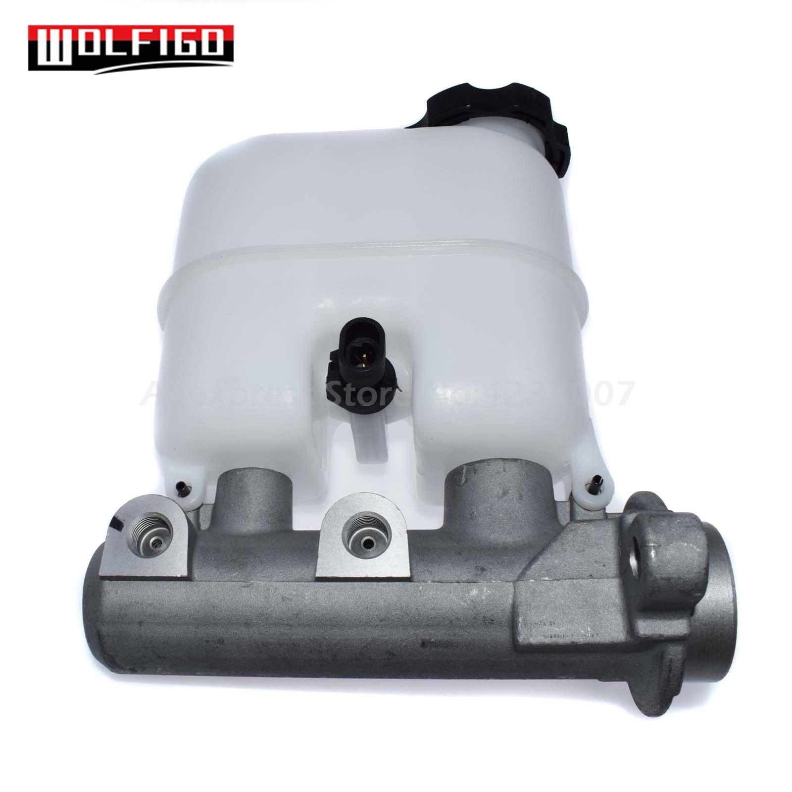 WOLFIGO nouveau maître-cylindre de frein avec réservoir et capteur de niveau pour chevrolet GMC Pickup 18043278,14335519, MC390542, 18043278, 18060790