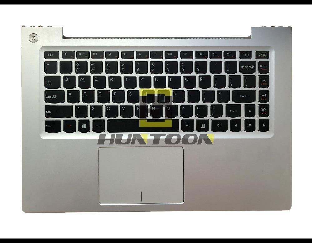 New Original Lenovo IdeaPad U430 U430P U430T US Keyboard Backlit Palmrest Cover