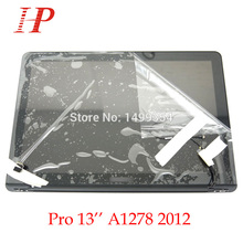 "New Glossy 2012 Year A1278 LCD Screen Assembly For Apple Macbook Pro 13"" A1278 LCD LED Screen Assembly MD101 MD102"