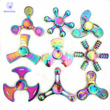 Antistress Colorful Fidget Toy Hand Spinner Rotation Time Long For Autism and ADHD fidget spinner Funny Anti Stress spiner