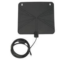 Dijital TV Ile 1 Adet HDTV Anten Amplifikatör 10ft ve 3 ft Bulit UL Güç Adaptörü Almak UHF/VHF F Sinyalleri ABD fiş